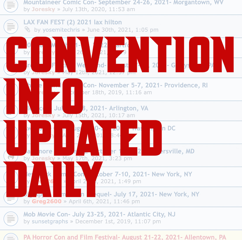 Convention Listings